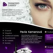 Permanentní prodlužování řas Diamond Lashes - Pavla Kamanová