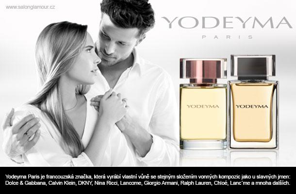 Všechny uvedené parfémy YODEYMA jsou originální!